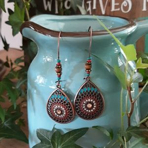 Jeweled Boho Earrings